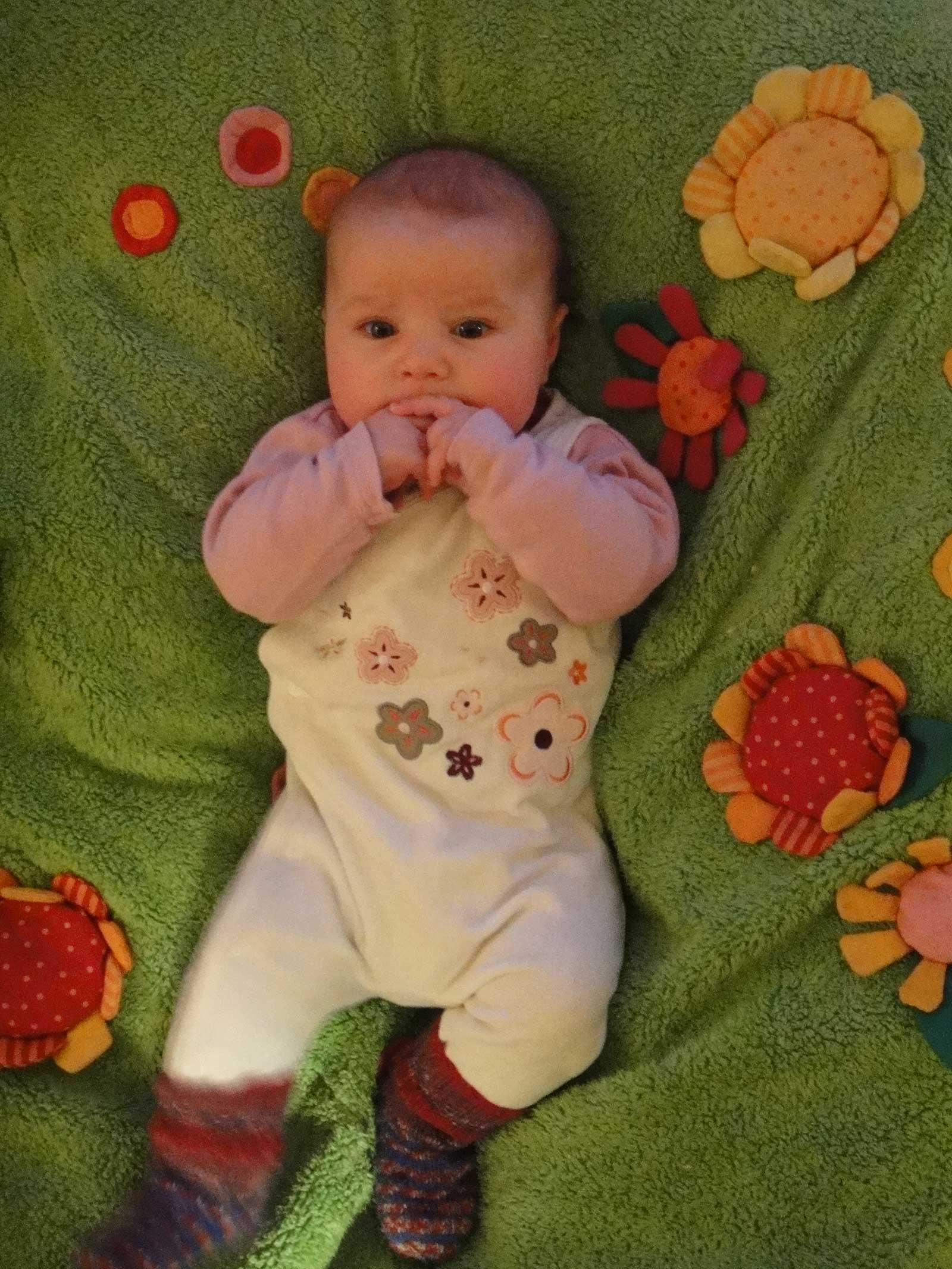 Beseelte Momente - zufriedenes Baby